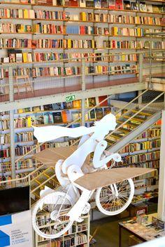 The best book store ever! Ler Devagar in the LX Factory, Lisbon