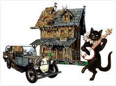 Fred the cat and home repairs