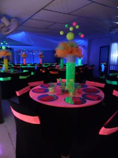 Best Birthday Party Ideas For Teens Sweet 16 Decorations 57 Ideas Source by margarethantoni ideas for teens Glow Party Decorations, Sweet 16 Decorations, Neon Party Themes, Birthday Decorations, Neon Birthday, Birthday Party For Teens, Birthday Fashion, 50th Birthday, Glow In Dark Party