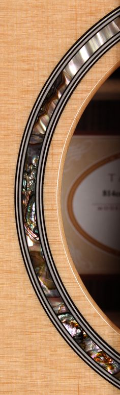 @Sam Taylor Guitars 814CE Soundhole. Taylor takes their time and makes beautiful inlay patterns! #guitar