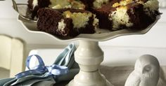 Chocolate and Coconut Brownies Recipe