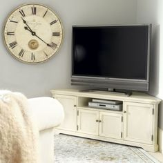 Reston Corner Media Console. Tv Corner UnitsCorner ...