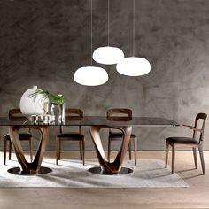 Mobius Dining Table - Rectangular | Urban Avenue