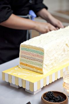 rainbow cake (photo by Love Me Do)