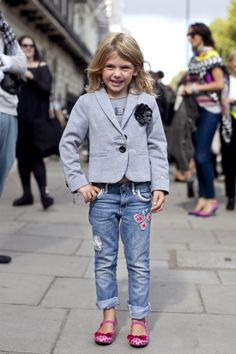 We love this look! #kids style