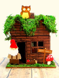 Gnome away from home decorative house. $18