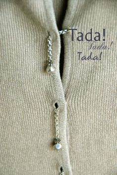 Chains Insted of buttons cool!