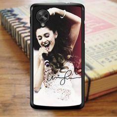 Ariana Grande Singer Red Pink Nexus 5 Case Note 3 Case, Galaxy Note 4 Case, Nexus 5 Case, Red And Pink, Ariana Grande, Samsung Galaxy, Phone Cases, Sony