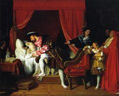 Mort de Léonard de Vinci - Jean Auguste Dominique Ingres