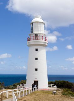 Cape Otway, Australia  The lightstation, built in 1848, is the oldest surviving lighthouse on the Australian mainland and stands a short distance off the Great Ocean Road near Apollo Bay on cliffs 90 metres above the spectacular Southern Ocean.