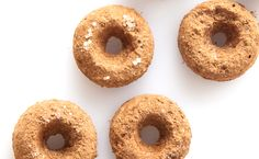 Epicure's Cinnamon Chai Doughnuts, baked not fried! Epicure Recipes, Ww Recipes, Real Food Recipes, Dessert Recipes, Desserts, Mini Doughnuts, Diy Donuts, Baked Donuts, Yummy Eats