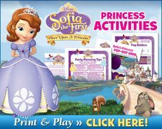 Sofia the First Games & Activities