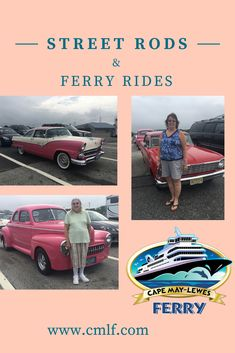 Bird watching and being on the lookout for marine wildlife is fun to do on the Ferry, but sometimes, you may catch a glimpse of a more retro type of bird; like a Firebird or something that looks like it was driven by the T-Birds themselves.