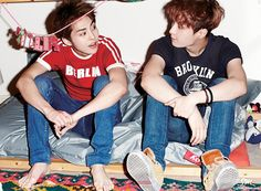 The photobook titled 'DIE JUNGS Xiumin and Lay