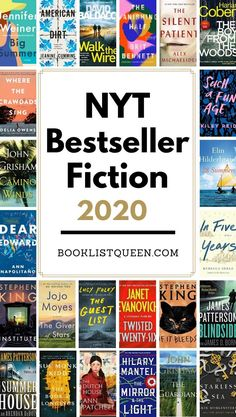 Aug 28, 2020 - Go beyond just the current list of New York Times Fiction Best Sellers to discover every bestselling book listed on the NYT Bestseller List in 2020. Book Club List, Book Club Reads, Book Club Books, Book Lists, Best Books To Read, Good Books, My Books, Best Books Of All Time, Book Suggestions