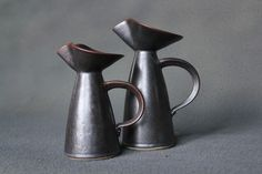 Character pitchers by Laurent Merchant. Who do they look like to you?