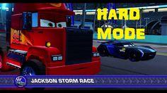 Cars 3: Driven to Win (HARD MODE) Mack VS Jackson Storm