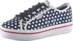 #Pepe #Jeans #Sneaker #Damen #blau -