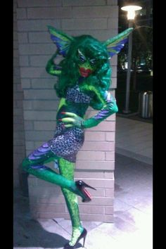 awesome costume.female gremlin