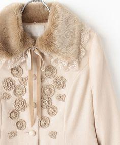 アドリアーナジョーゼットジャケット ピンクベージュ×M |PINK HOUSE/ピンクハウス 公式通販サイト - セレクトスクエア