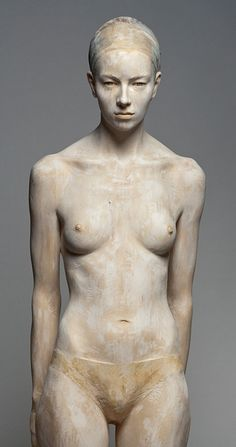 Wood Sculpture by Bruno Walpoth - amazing.... This really is amazing i thought this was a real model who was painted. The fact that is is a sculpture is just WOW!!!