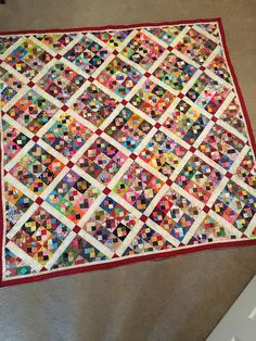 Lovely Scrappy Quilt