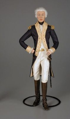 105.207: Marquis de Lafayette | doll | Collector Dolls | Dolls | Online Collections | The Strong