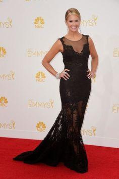 Nancy O'dell Emmy award 2014: best dressed