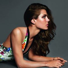 Charlotte Casiraghi for Gucci...Gorgeous!!