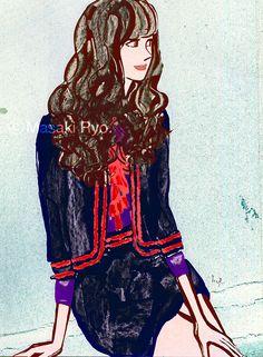Fashion – masaki ryo. : illustrator : illustration