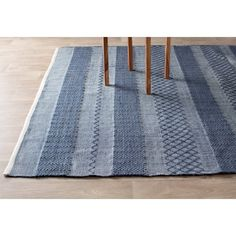 Estate Hand-Woven Blue Indoor/Outdoor Area Rug & Reviews | Joss & Main