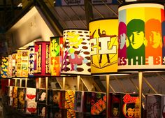 the beatles lamps