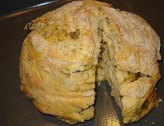 Receta de Pan con Ajo y Aceitunas (italia)