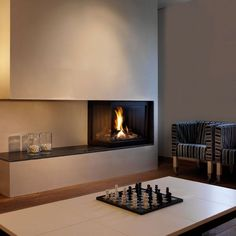 modern fireplace4 Modern Gas Fireplaces Ideas from Attika Feuer