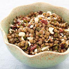 Lentil Salad with Olives, Mint, and Feta Recipe - Americas Test Kitchen