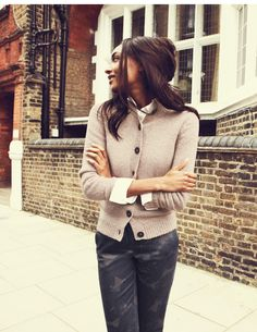 Chunky Cardigan WK774 Cardigans at Boden