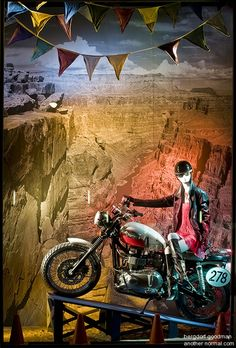 """""""For my next stunt i need a volunteer.......anyone?"""", , pinned by Ton van der Veer"""