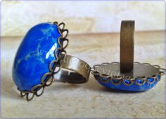 anillo turquesa teñida de untoquevintage.com