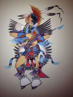 This is a Original painting by DOC TATE NEVAQUAYA **** A Very Well know Native American Comanche Artist and Flute Player. Throughout the Native American community and around the world. Doc was born Ju. Native American Proverb, Native American Quotes, Native American Symbols, Native American History, Native American Paintings, Native American Artists, American Indian Art, American Women, American Indians