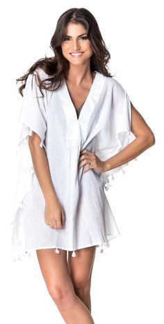 f503194fba #RedCarter 2015 Spice & Dice White Tassle #CoverUp RCSD115C02-WHITE  #southbeachswimsuits
