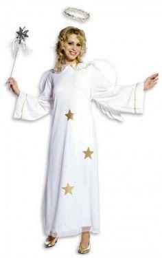 déguisement Ange de Noël avec étoiles dorées   ou comment être la femme la  plus douce ab92cc3558e8