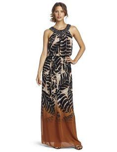 Jessica Howard Women's Border Maxi Dress « Clothing Impulse
