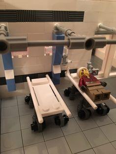 LEGO Ideas - Bell Clinic Lego Lego, Legos, Lego Hospital, Theatre Practitioners, Iron Man Cartoon, Lego Stuff, Lego Building, Lego Ideas, Lego Creations