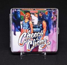 Cheech & Chong Silver Framed PU Leather King Size Case