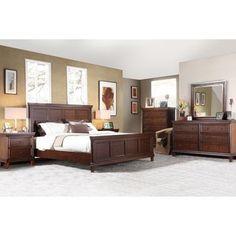 Walden 6-piece King Storage Bedroom Set | New house! | Pinterest ...