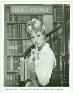 "Shirley Jones in the 1962 film ""The Music Man"" (1962) directed by Morton DaCosta"