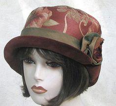 ❤ - Bohemian floral print bucket hat