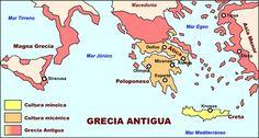 Grecia - Grecia antigua Macedonia, Strategy Map, Comics, History, Drawings, Pictures, Marco Antonio, Cleopatra, Maps