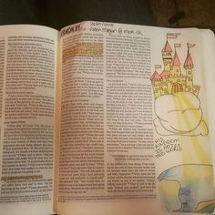 John 19:36 My kingdom is not of this world #illustratedfaith #bibleartjournaling #noartistictalent