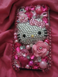 Hello Kitty phone case. Seriously... my next project! Already started.